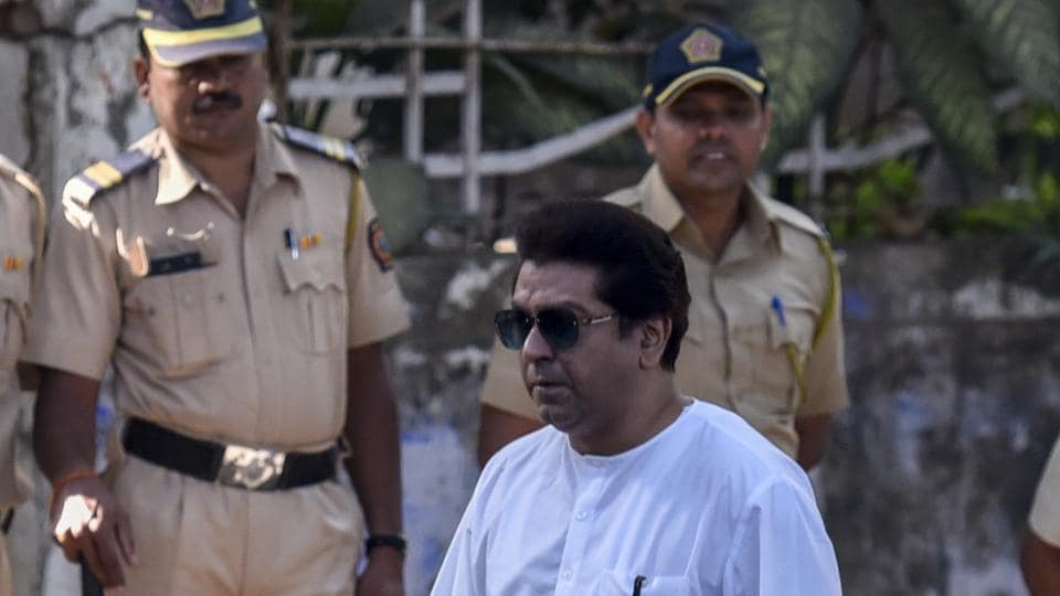 "Maharashtra Navnirman Sena chief Raj Thackeray said on Monday his party has no objection or opposition to writer Nayantara Sahgal's presence at a Marathi literary meet, after its organisers withdrew the invitation over threats by a member of his party. The Akhil Bharatiya Marathi Sahitya Parishad said the decision to revoke the invitation to the 91-year-old author was taken to ""avoid any untoward incident."" (Kunal Patil / HT File)"