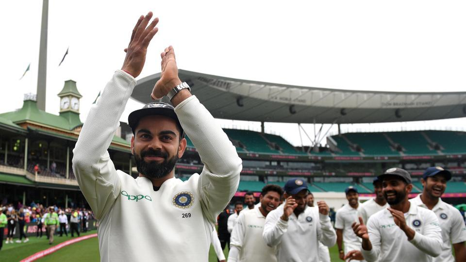 Kohli hopes historic success reignites passion for test cricket