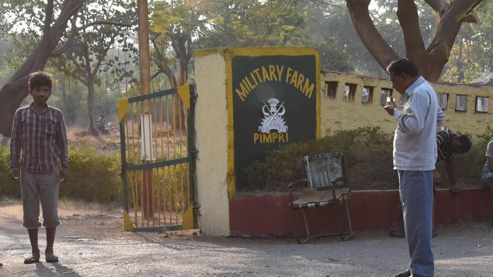 military farms,maharashtra,defence ministry