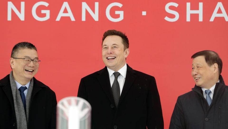 Tesla,Elon Musk,US-China
