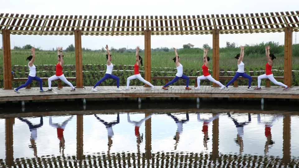 Sino-India yoga college takes in first master's students, expands in