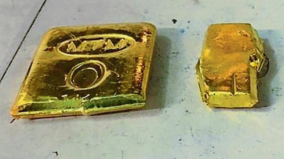 Gold worth Rs 35.22 lakh was seized from a man at Delhi's IGI airport on Monday, January 7, 2019.