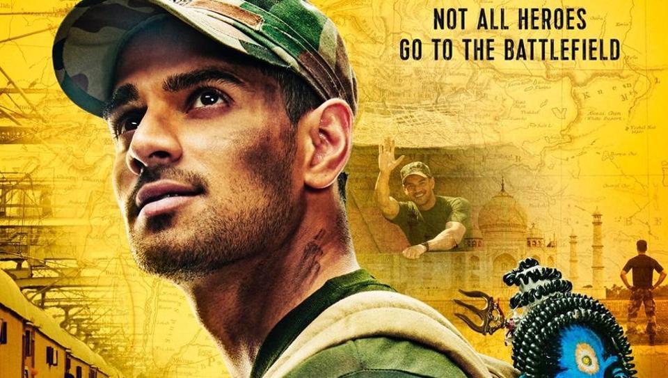 Sooraj Pancholi on the poster of Satellite Shankar.