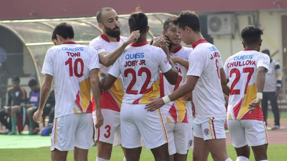 I-League: East Bengal beat Indian Arrows 2-1 in hard-fought match