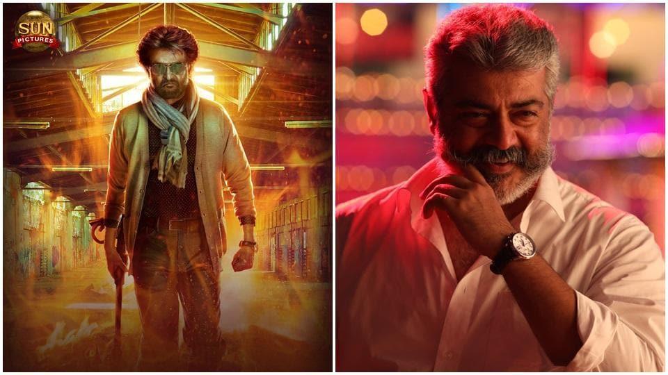 Petta Vs Viswasam Box Office Rajinnikanth And Ajiths Films Will Release On January 10
