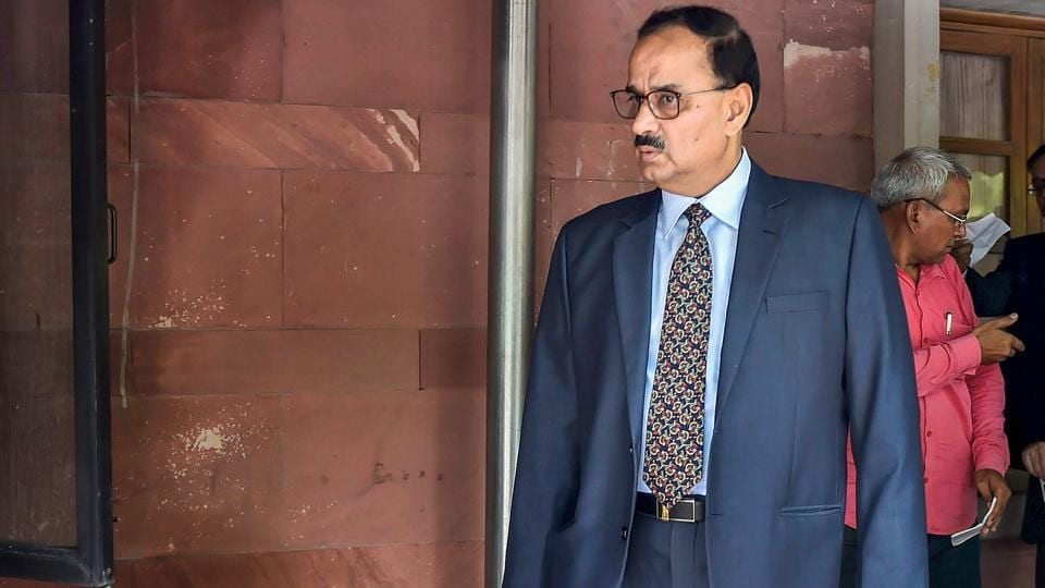 Central Bureau of Investigation Chief Alok Verma at Supreme Court in New Delhi on July 30.