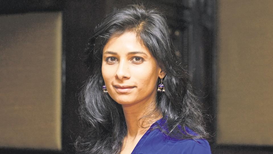 Indian-American Gita Gopinath,IMF,IMF chief economist