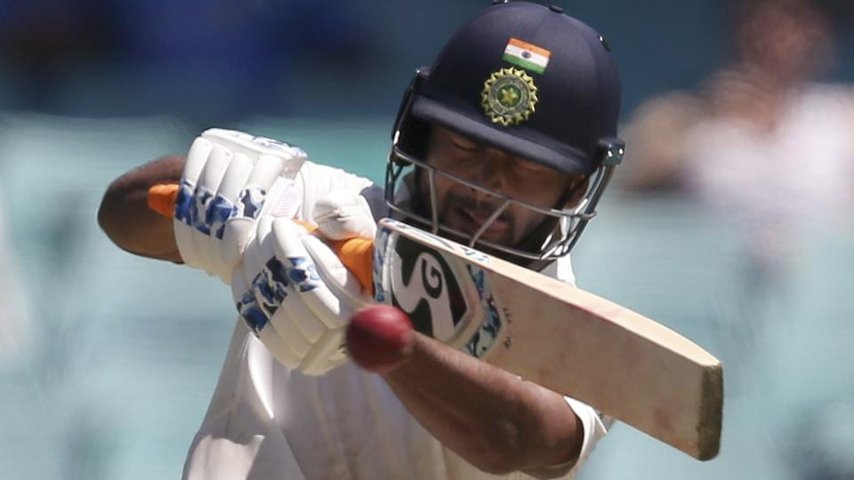 Rishabh Pant pulls the ball against Australia on Day 2 of the fourth Test between India andAustralia.