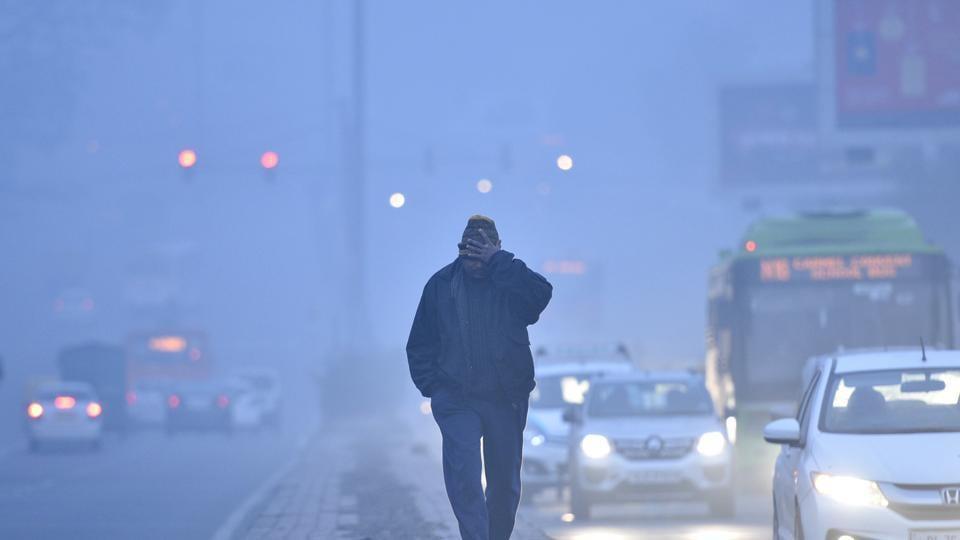 pollution in delhi,AQI,washtington university