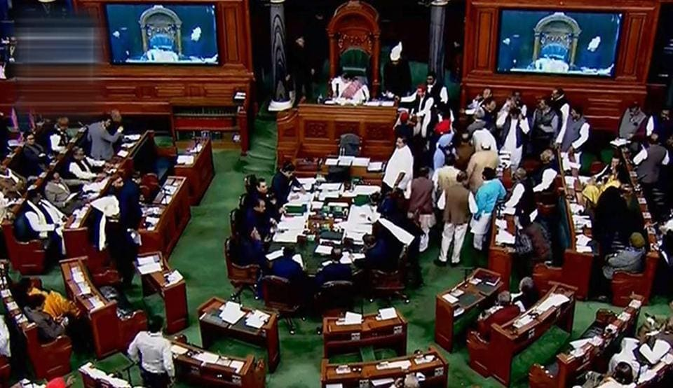 Lok Sabha has begun a debate on  a constitution amendment bill to introduce 10 per cent reservation for poorer sections among general category aspirants for jobs and educational institutions.