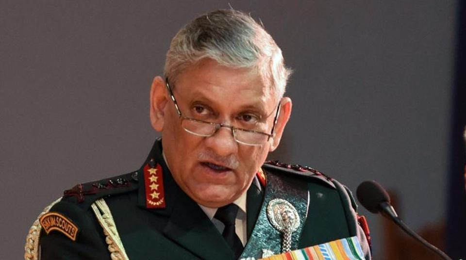 Chief of Army Staff General Bipin Rawat on Wednesday said that talks can be held with the Taliban in Afghanistan provided that there are no preconditions (File Photo)