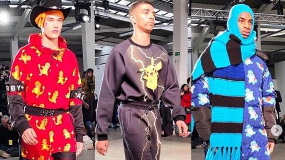 Pikachu And Provocation At London S Fashion Week For Men Fashion