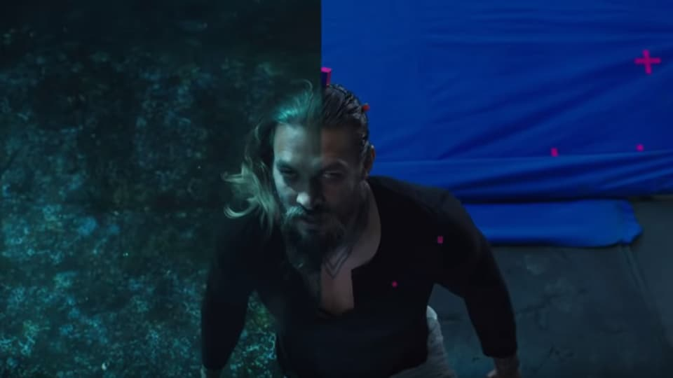 Jason Momoa's hair was the most difficult to get right.