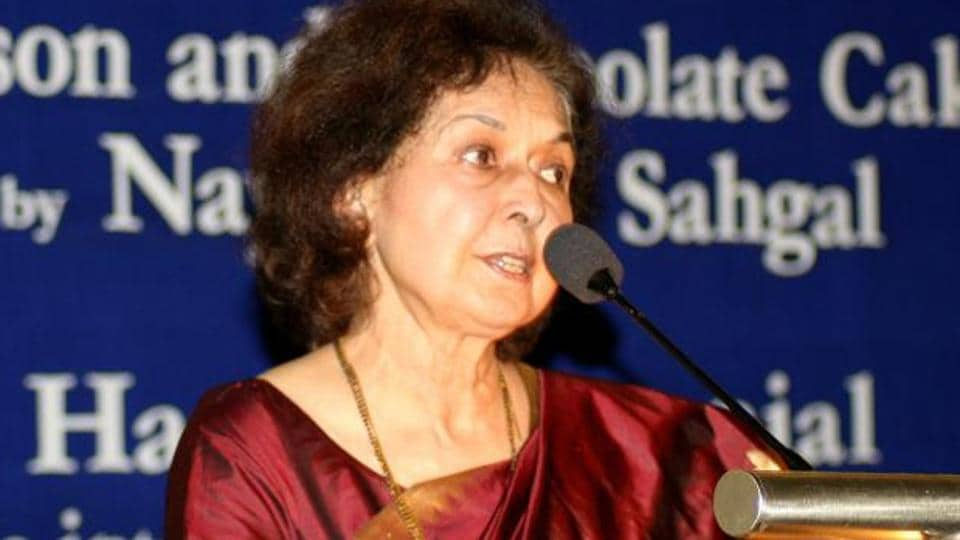 Nayantara Sahgal, 91, a recipient of the Sahitya Akademi award, had been invited by the Akhil Bharatiya Marathi Sahitya Mahamandal president Sripad Joshi as the chief guest and keynote speaker at the session, which she had accepted.