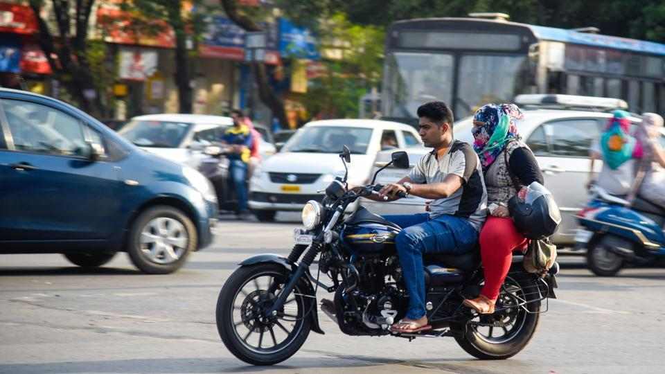 Pune police issue e-challan to youth for riding without helmet with