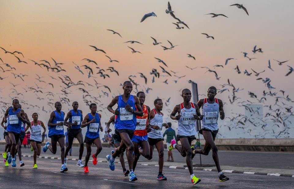 The 2018 edition of the marathon.