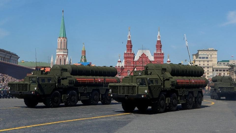 Russia today said that the delivery of S-400 missile air defence systems to India will not be delayed by USsanctions (File Photo)