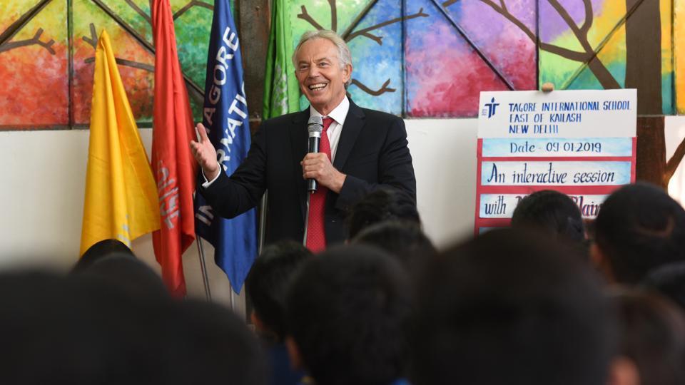 Raisina Dialogue,Tony Blair,former British PM Tony Blair