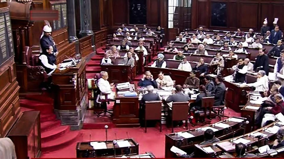 Rajya Sabha is voting on the Constitution (One Hundred and Twenty-Fourth Amendment) Bill.