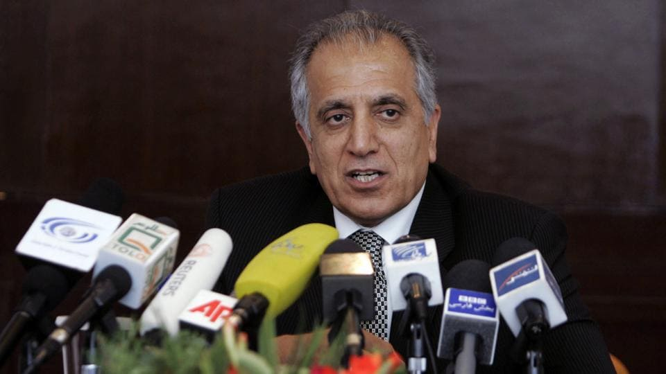 Zalmay Khalilzad, US special adviser on Afghan reconciliation, will be in India on his first visit to the country since taking over the post in September 2018. He will also visit Pakistan, Afghanistan and China (File Photo)