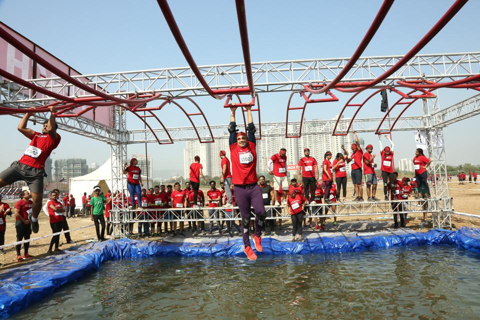 Dosti Realty hosted an intense obstacle course at their project, West County, in Thane last year.