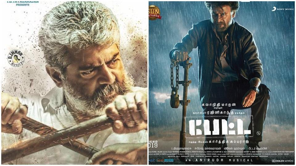 Viswasam and Petta's first day screening was celebrated across the world.