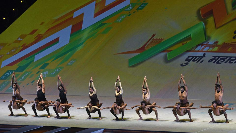 The ceremony officially kicked off the 12-day extravaganza for over 6,000 under-17 and under-21 athletes. (Pratham Gokhale/HT Photo)