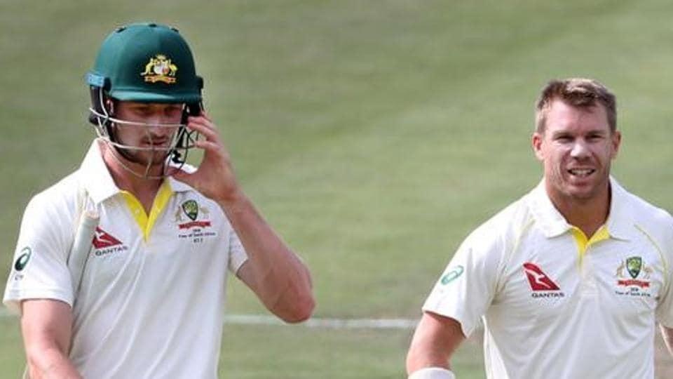 File image - Australia's David Warner and Cameron Bancroft