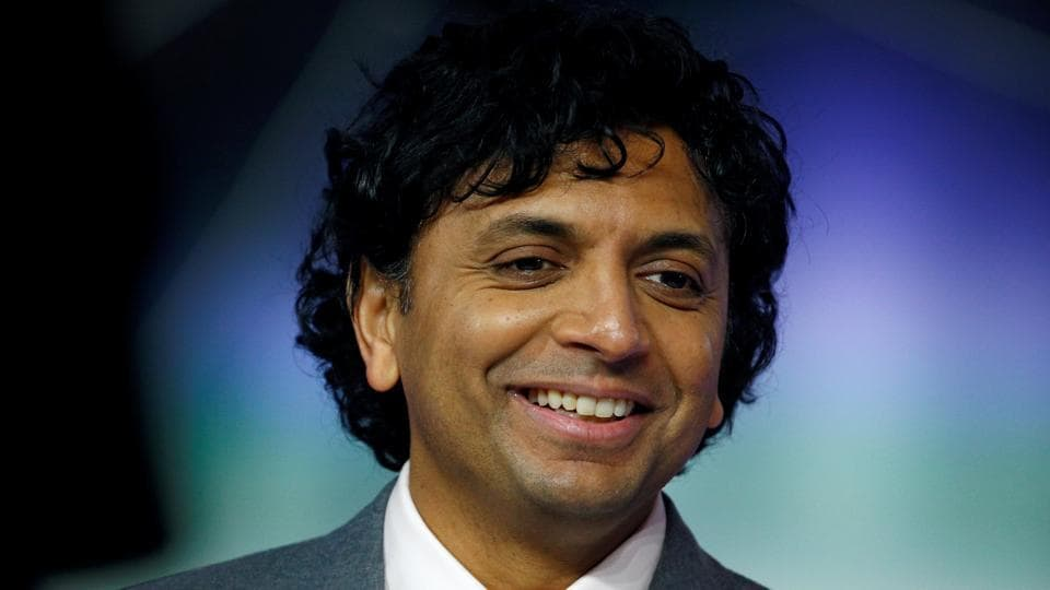 Director M Night Shyamalan attends the European premiere of Glass in London, Britain.