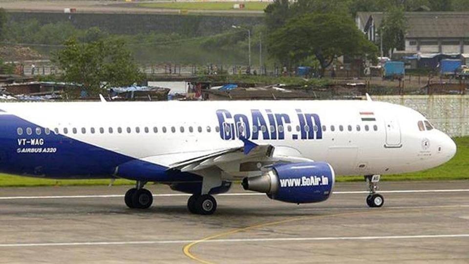 """A Pratt & Whitney-engine powered A320neo plane of GoAir returned to the city due to """"high engine vibrations"""" after an hour of its take-off for Delhi Thursday, a source said."""