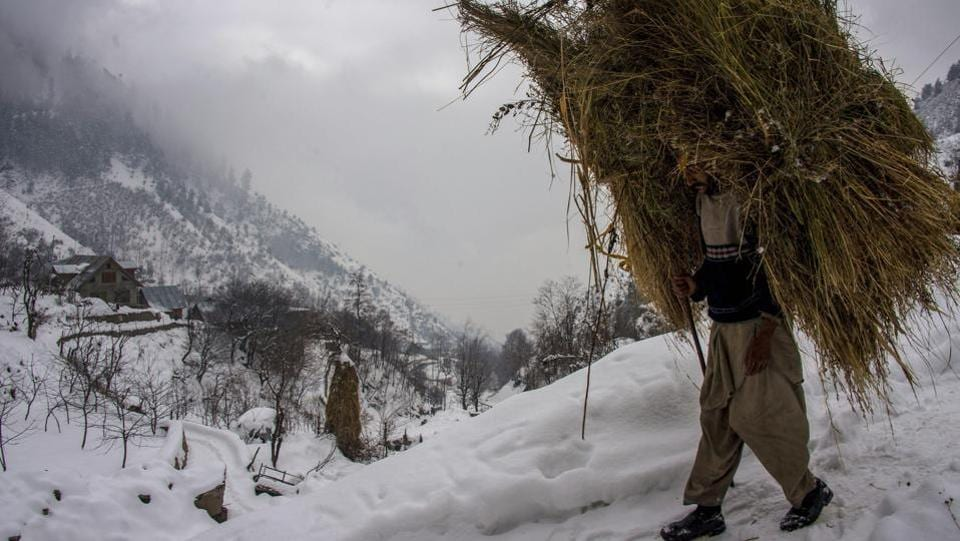 Kashmir is bracing for yet another spell of snow over the weekend, prompting authorities to review their preparedness to deal with upcoming disturbances. The Valley received widespread snowfall on January 5, leading to disruption of both air and road traffic. Kashmir is currently under the grip of 'Chillai-Kalan' – the 40-day period when chances of snowfall are most maximum and the temperature drops considerably. (S Irfan / PTI File)