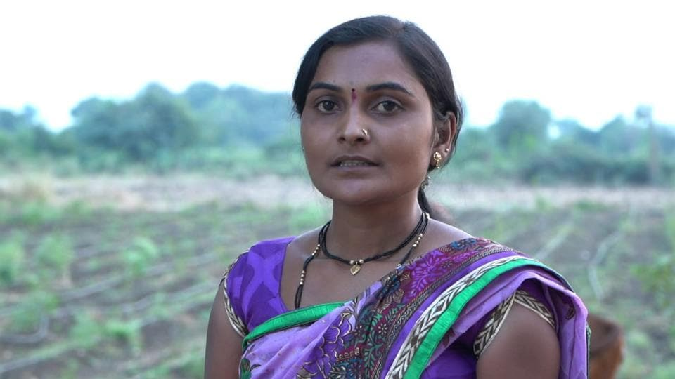 Vaishali Yede from Rajur village in Yavatmal district, who will now inaugurate the meet on Friday, is a distressed farm widow, living with two sons.