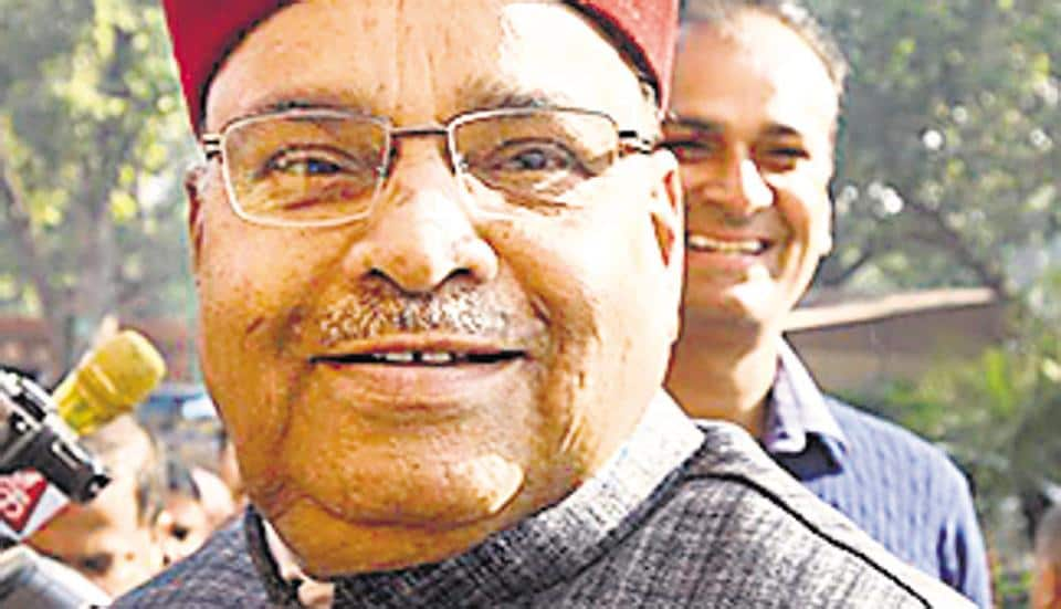 Union minister for social justice and empowerment Thawar Chand Gehlot.