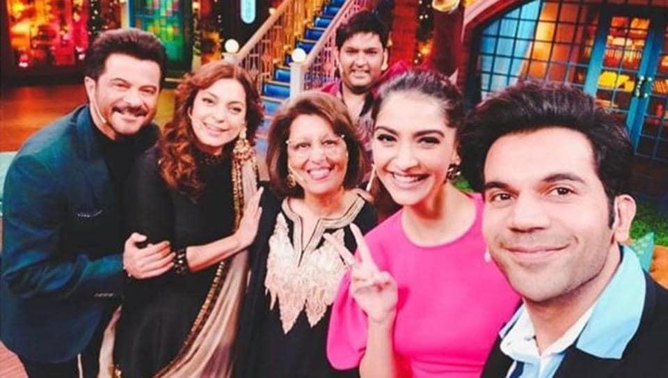 Sonam Kapoor,Anil Kapoor,Juhi Chawla