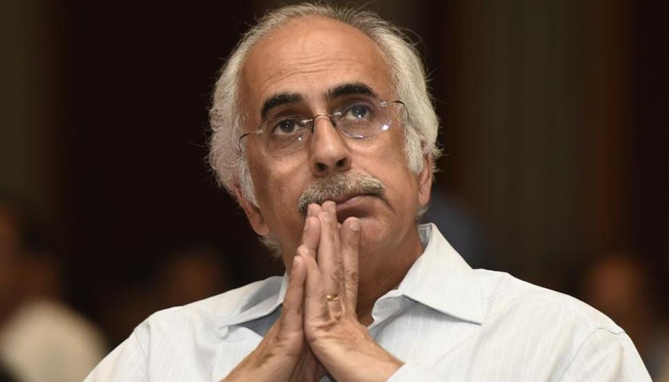 Former bureaucrat Ashok Chawla Friday resigned as chairman of the National Stock Exchange (Photo by Vipin Kumar/ Hindustan Times)