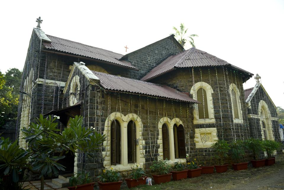 The Emmanuel Church in Grant road is a Grade-II heritage structure, made with Porbandar stone in Gothic style
