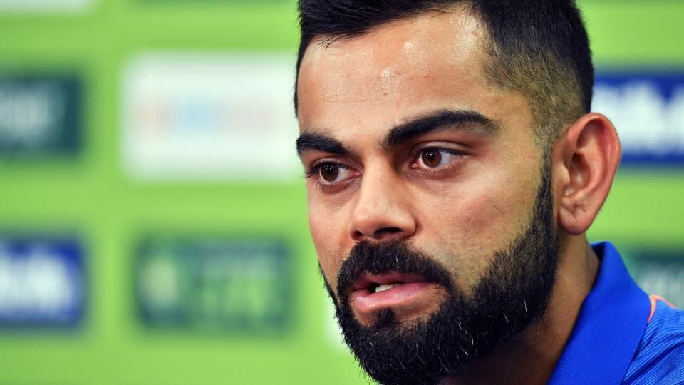 India's cricket team captain Virat Kohli speaks during a press conference ahead of the first One Day International (ODI) match between India and Australia at the Sydney Cricket Ground in Sydney on January 11, 2019