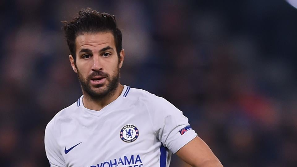 File image of Cesc Fabregas in action in the Premier League.