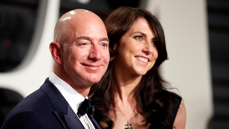 jeff bezos divorce,Amazon founder Jeff Bezos,world's riches man