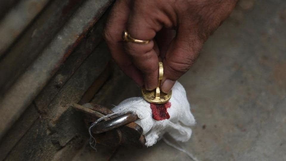 The East Delhi Municipal Corporation started a sealed 14 factories being run illegally in residential areas on Thursday, January 10, 2019.