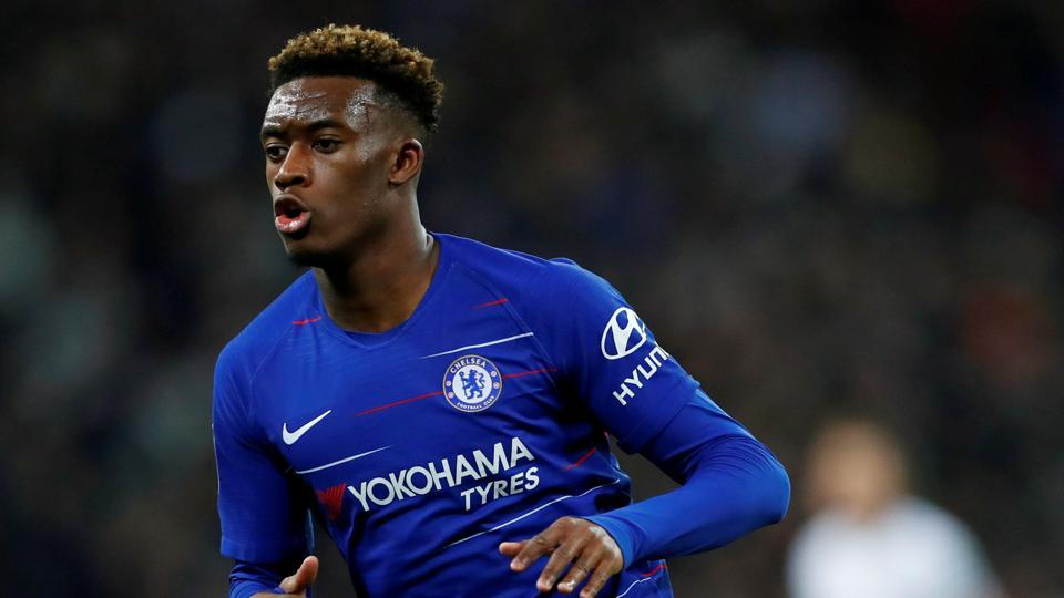 File image of Chelsea's Callum Hudson-Odoi in action during a match.