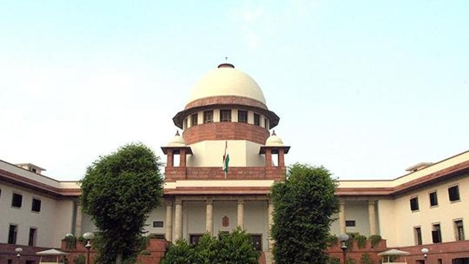 A view of theSupreme Court  in New Delhi.