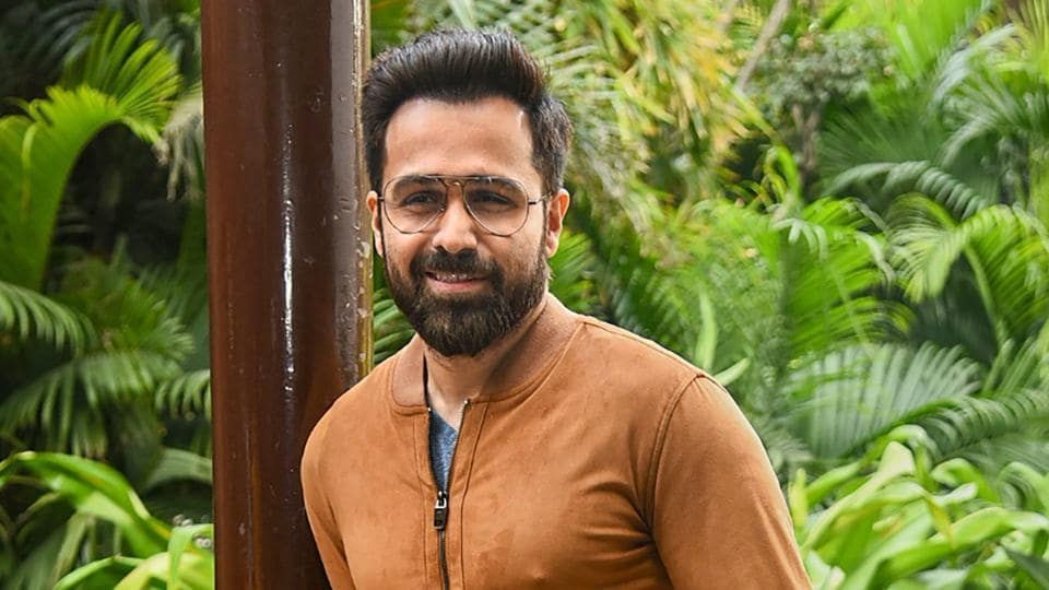Emraan Hashmi poses for photos during his film Why Cheat India promotions.