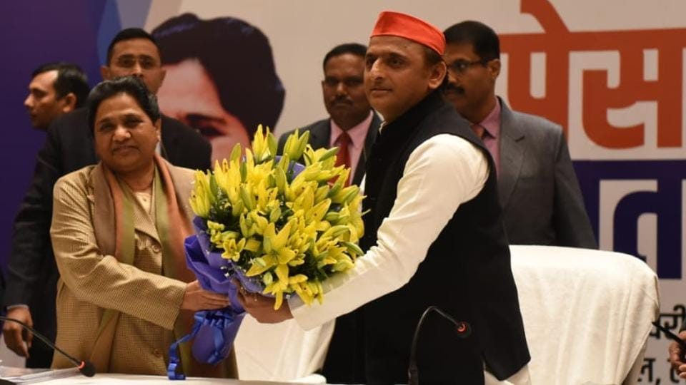 Akhilesh Yadav and Mayawati have formed a strong alliance opting for a 50:50 distribution of Uttar Pradesh's 80 Lok Sabha seats for 2019 elections.