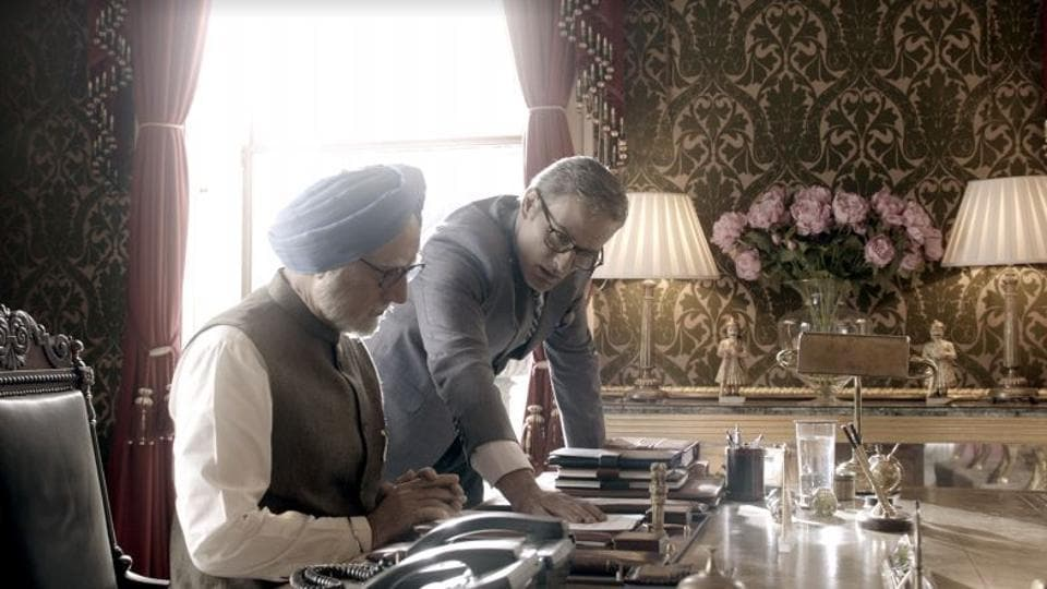 A still from 'The Accidental Prime Minister'.