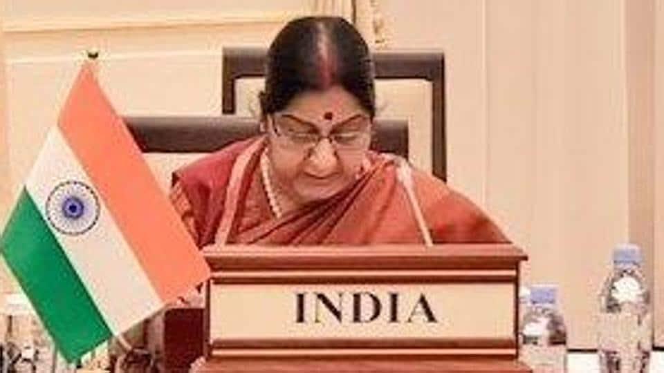 Sushma Swaraj,external affairs minister Sushma Swaraj,India-Central Asia Dialogue