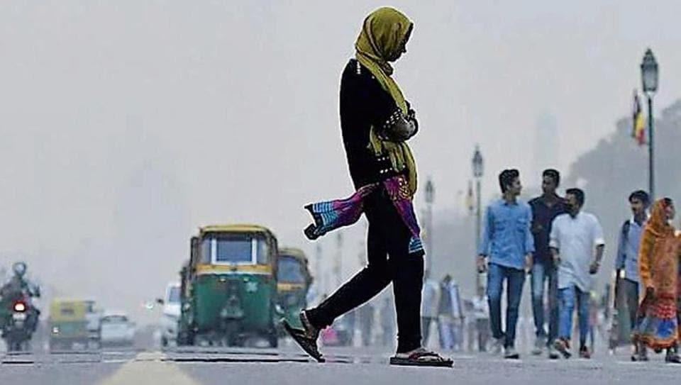 Delhi walkability plan,Delhi,Pedestrians
