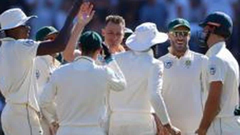 3rd Test South Africa Need Seven Wickets To Sweep Series Against