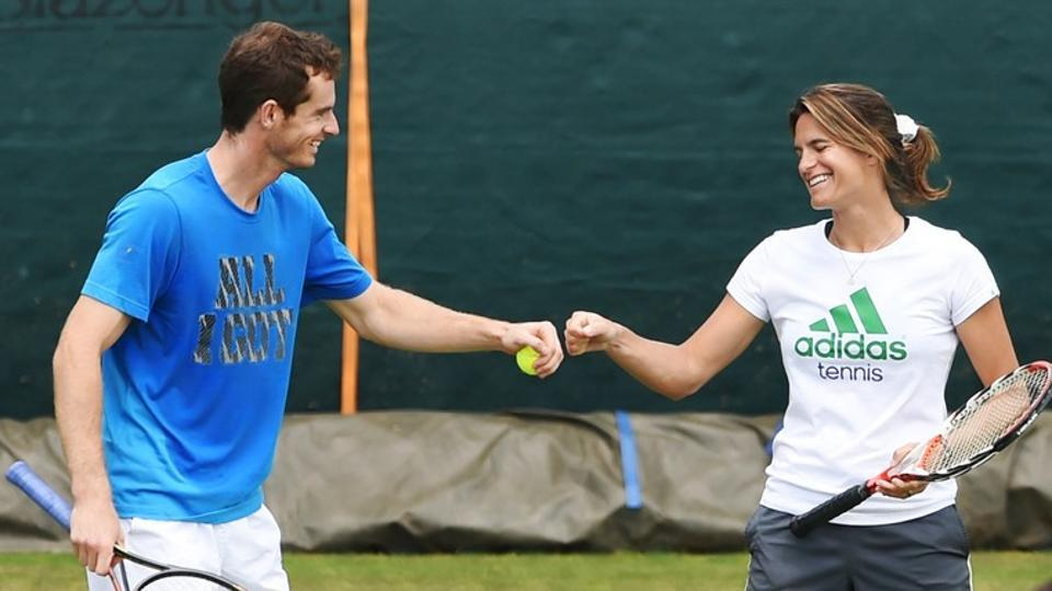 Andy Murray,Amelie Mauresmo,Andy Murray retirement