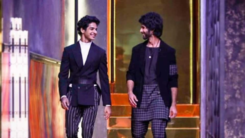 Brothers Shahid Kapoor and Ishaan Khatter on Koffee With Karan.
